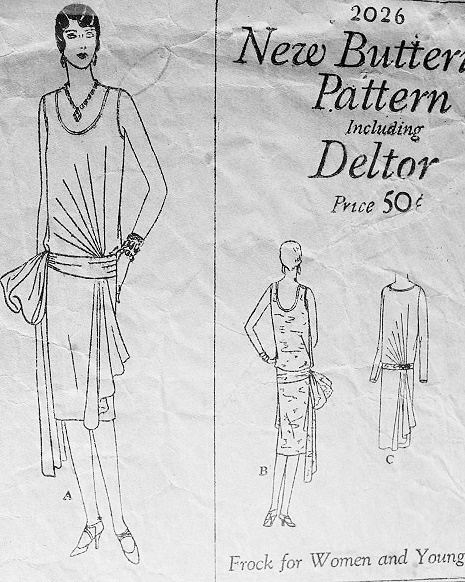 1920s Dress Patterns Flapper Images & Pictures - Becuo