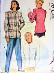 1940s  FITTED JACKET COAT PATTERN 2 STYLE VERSIONS JACKET DRESSY or CASUAL  McCALL 6845 Bust 32
