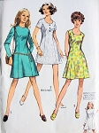 1970s PRINCESS DRESS PATTERN 3 VERSIONS SIMPLICITY PATTERNS 8886