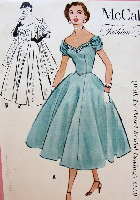 evening gown sewing pattern | Fashion Gallery
