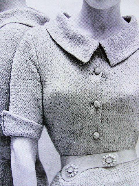 Knitting Pattern Stand : INSTANT PDF 1950s Vintage Ribbon Knitting Pattern Figure Show Off Knit Dress ...