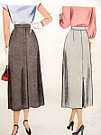 1940s Classic Skirt Pattern McCALL 7359 Vintage Sewing Pattern