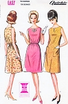 1960s Cute Beginners Sleeveless Dress Pattern McCALLS 7188 Easy To Sew 2 Styles Medium Size Vintage Sewing Pattern FACTORY FOLDED