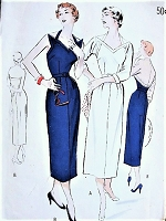 1950s BOMBSHELL Halter Sun Dress and Bolero Pattern BUTTERICK 5262 Unique Evening Party Dress Bust 32 Vintage Sewing Pattern
