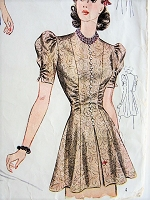 1940s LOVELY Blouse Set Simplicity Pattern 3367 Bust 30 Vintage Sewing