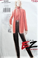1990s RETRO Jacket and Pants Vogue 9088 90s Sewing Pattern