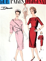 1950s ELEGANT Suit and Blouse Pattern VOGUE Paris Original 1452 Designed by Desses Perfect Day to Evening Outfit Bust 34 Vintage Sewing Pattern FACTORY FOLDED