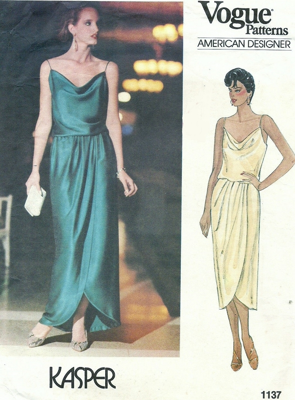 Vintage Vogue Evening Dress Patterns - Prom Dresses Cheap