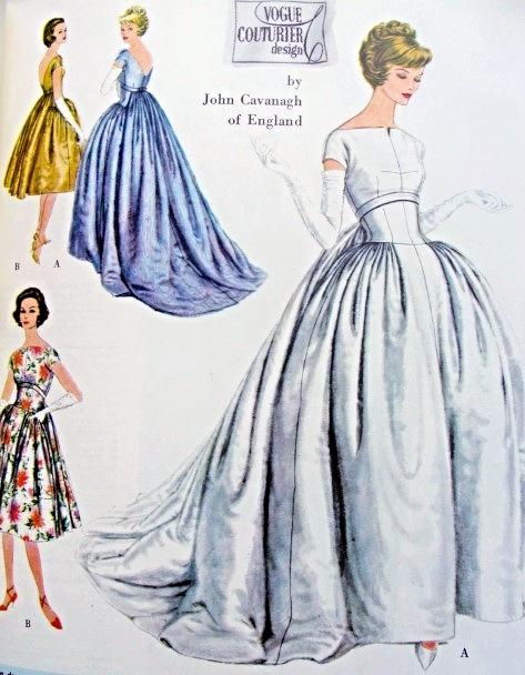 Vintage Vogue Evening Dresses - Plus Size Tops