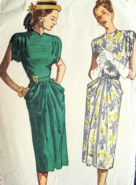 Dress with pockets Pattern 9