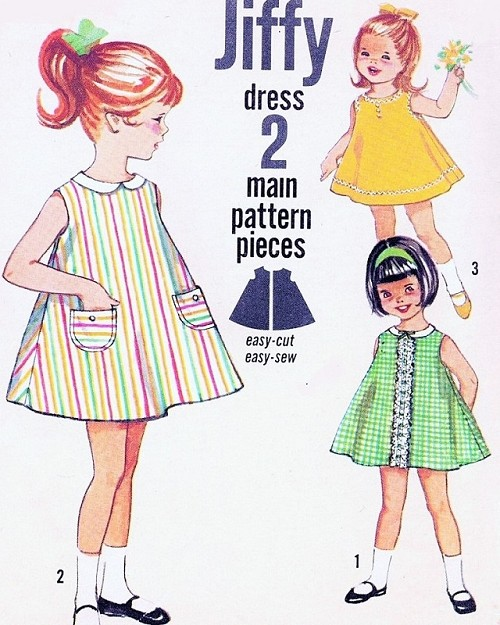 Dress with pockets Pattern 8