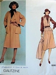 1970S VINTAGE JACKET, JUMPER, BLOUSE, SCARF VOGUE DESIGNER ORIGINAL
