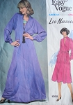 1970s DRESS PATTERN AMERICAN DESIGNER ORIGINAL VOGUE 1388