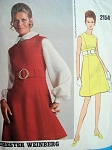 DRESS JUMPER  BLOUSE PATTERN CHESTER WEINBERG VOGUE AMERICANA