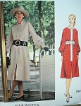 1970s DRESS PATTERN SIMONETTA VOGUE COUTURIER DESIGN 2529