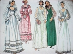 1970s ROMANTIC WEDDING DRESS BRIDAL GOWN PATTERN SIMPLICITY 6671