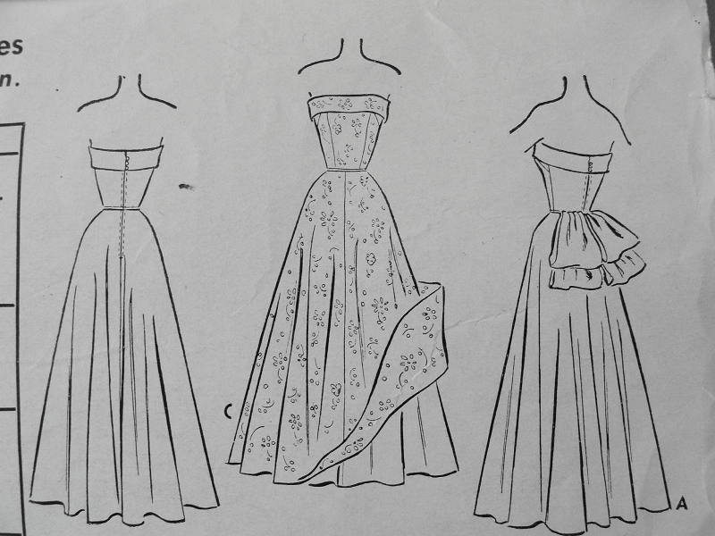 40s Formal Evening Ball Gown Pattern McCall 40 Striking Delectable Ball Gown Patterns