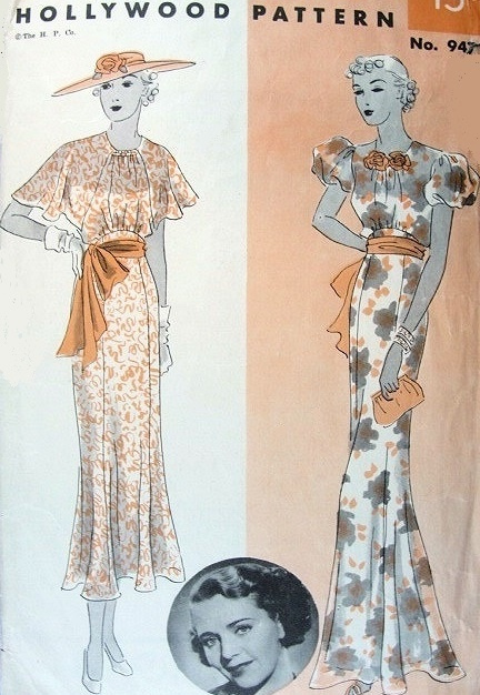 Art Deco Evening Dress