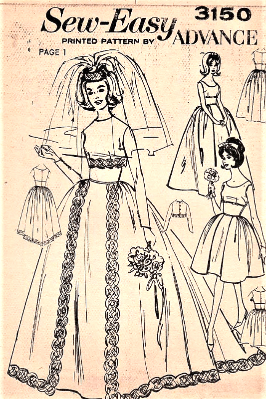 1960s BEAUTIFUL Wedding Bridal Gown or Evening Cocktail Party Dress ...