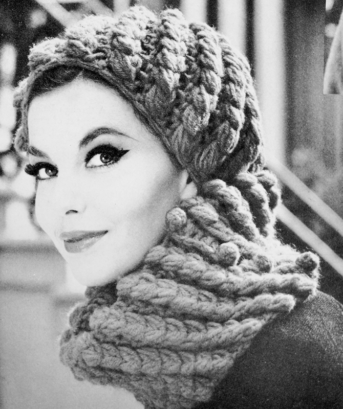 Instant Download Pdf 1950s Vintage Crochet Pattern Flirty French Cap