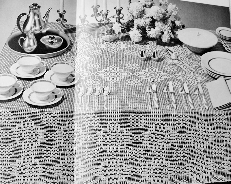 Instant Download Pdf Elegant Heirloom Filet Lace Crocheted Leicester