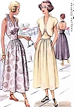 1940s BEAUTIFUL Sun Dress and Bolero Pattern  McCALL 7248 Figure Flattering Midriff Halter Dress  Vintage Sewing Pattern Bust 32