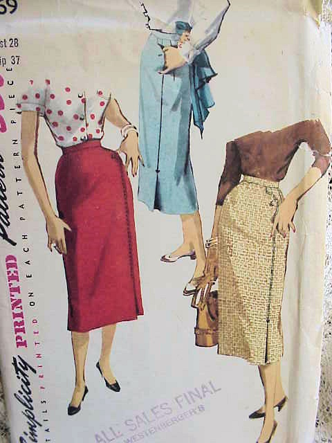 how to make a vintage skirt