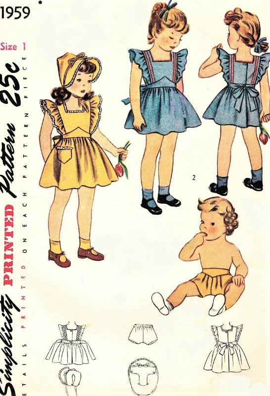 SUMMER CLOTHES! SEWING PATTERN MAKE BABY GIRL TOPS~SKIRT~PANTS~PANTIES~HAT