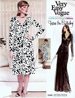 70s VOGUE 1548 DVF The Quintessential Diane Von FURSTENBERG Seductive Wrap Dress Very Easy To Sew Wrap Around Dress Vintage Sewing Pattern