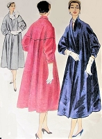 1950s GORGEOUS Day or Evening Coat Pattern McCALLS 3161 Beautiful Design Bust 34 Vintage Sewing Pattern