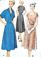 1950s SWEETHEART Neckline Cocktail Dress and Bolero Pattern McCALLS 9345 Figure Flattering Style Daytime or Evening Vintage Sewing Pattern