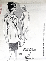 1960s STYLISH Designer Jacket Pattern SPADEA 902 Bill Blass Bust 35 Vintage Sewing Pattern FACTORY FOLDED