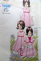 1960s SWEET Little Girls Dress or Jumper and Jacket Pattern VOGUE 6323 Cute Childs Inverted Pleated Dress Jumper,Short Jacket Size 4 Vintage Childrens Sewing Pattern