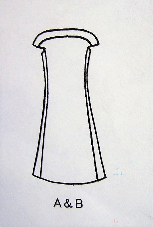 1960s MOD Laroche Dress Pattern VOGUE Paris Original 1950 Bateau ...