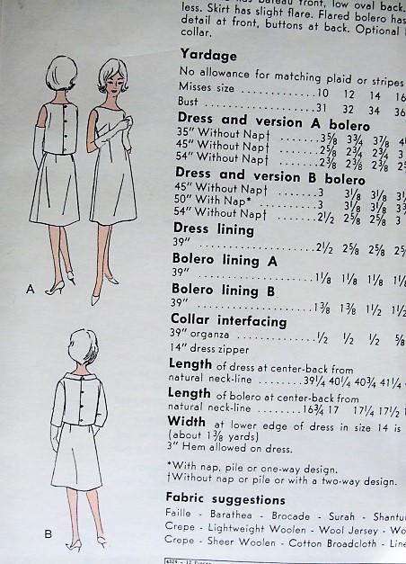 19ef231585a 1960s ELEGANT Party Dinner Dress Pattern VOGUE Special Design 4329 ...