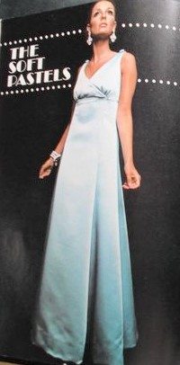 39ced73b4cd 1960s ELEGANT Evening Gown Cocktail Party Dress Pattern VOGUE 7477 ...