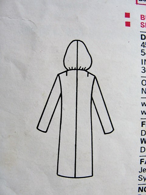 1960s MOD Slim Dress With Hood Pattern Very Easy Very VOGUE 7658 ...