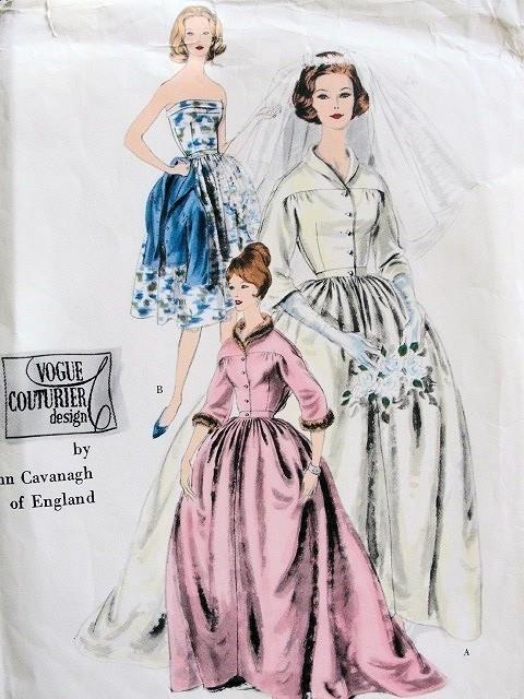 Vintage 1960 JOHN CAVANAGH DESIGNER Bridal Gown Wedding Dress ...