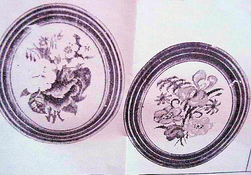VINTAGE CROSS STITCH PATTERN FLORAL PICTURES