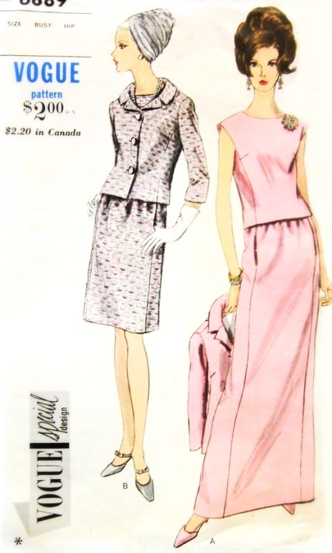 Vogue Special Design 6889 Pattern